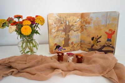 Herfst seizoentafel van Atelier de Vier Jaargetijden