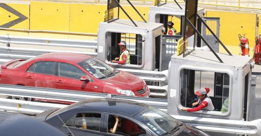 Peajes en Panamericana Norte y Sur subirán a S/ 5.50 desde 20 de noviembre, anunció concesionaria Rutas de Lima
