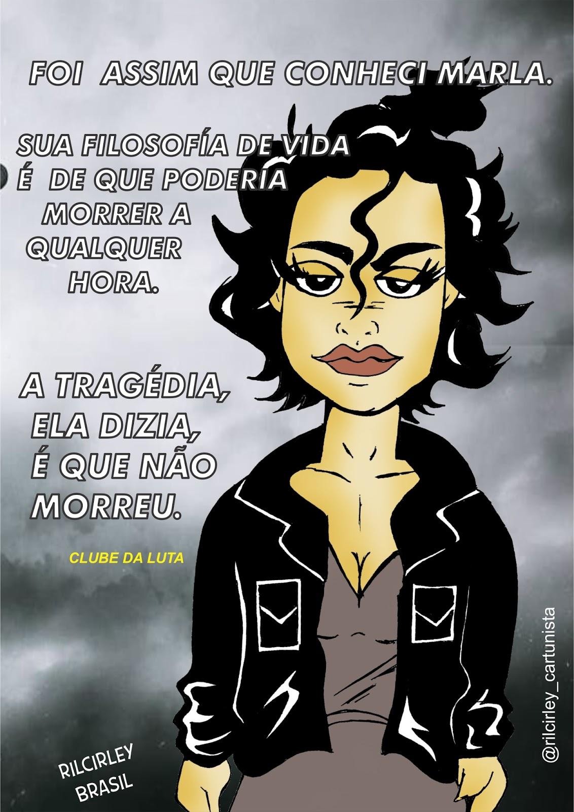 Rilcirley Brasil Cartum Frases De Marlaclube Da Luta