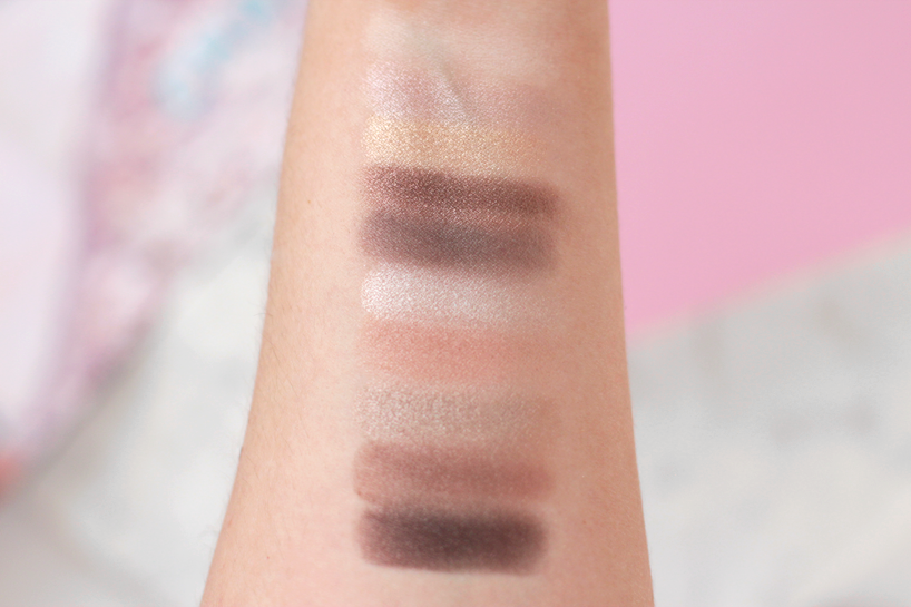 models prefer nude eyeshadow palette review swathces priceline