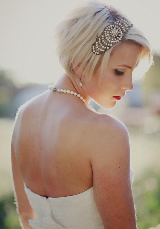 Magnificent Brides With Short Hair Yes It Is True Short Hairstyles Gunalazisus