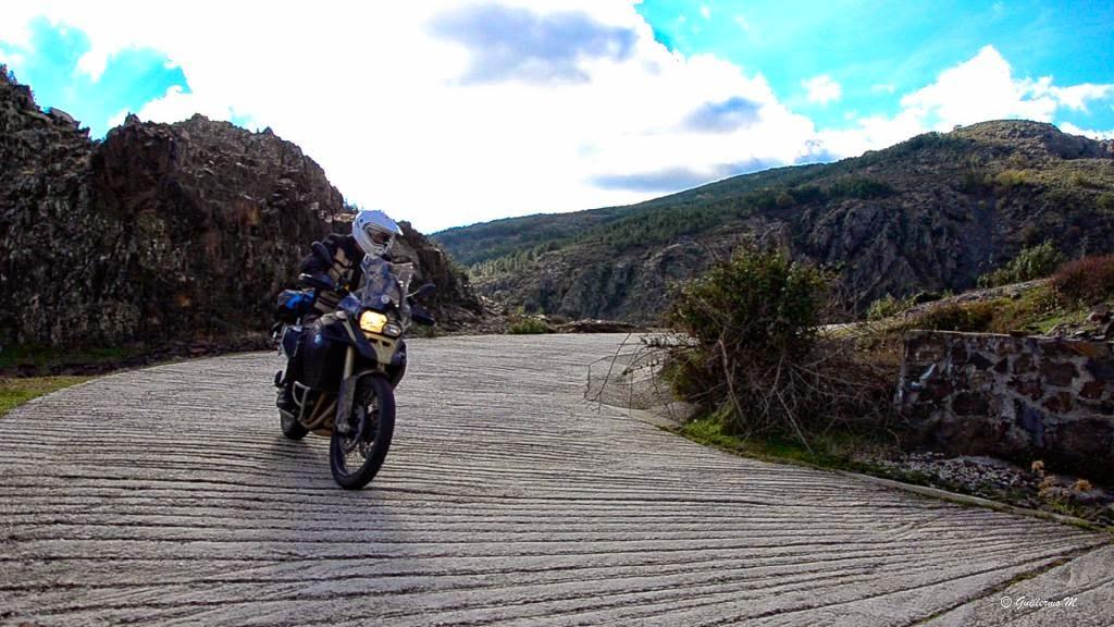 BMW GS 800 adv, Sierra Ayllon, Trail Forever