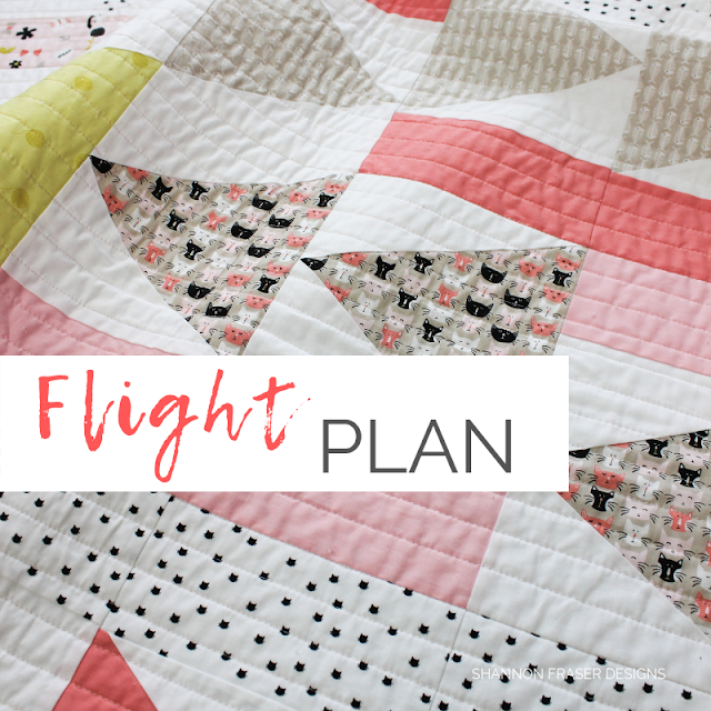 Flight Plan Quilt | Shannon Fraser Designs