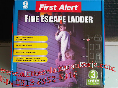 Fire Escpae Ladder 3 story