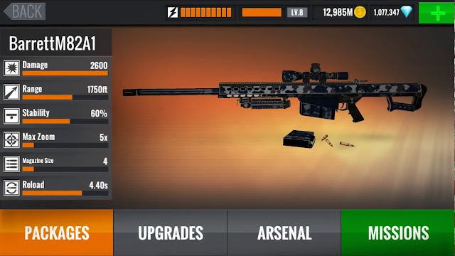 تحميل لعبة sniper 3d مهكرة جاهزة للاندرويد 2019