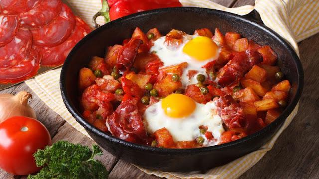 Món trứng Flamencos