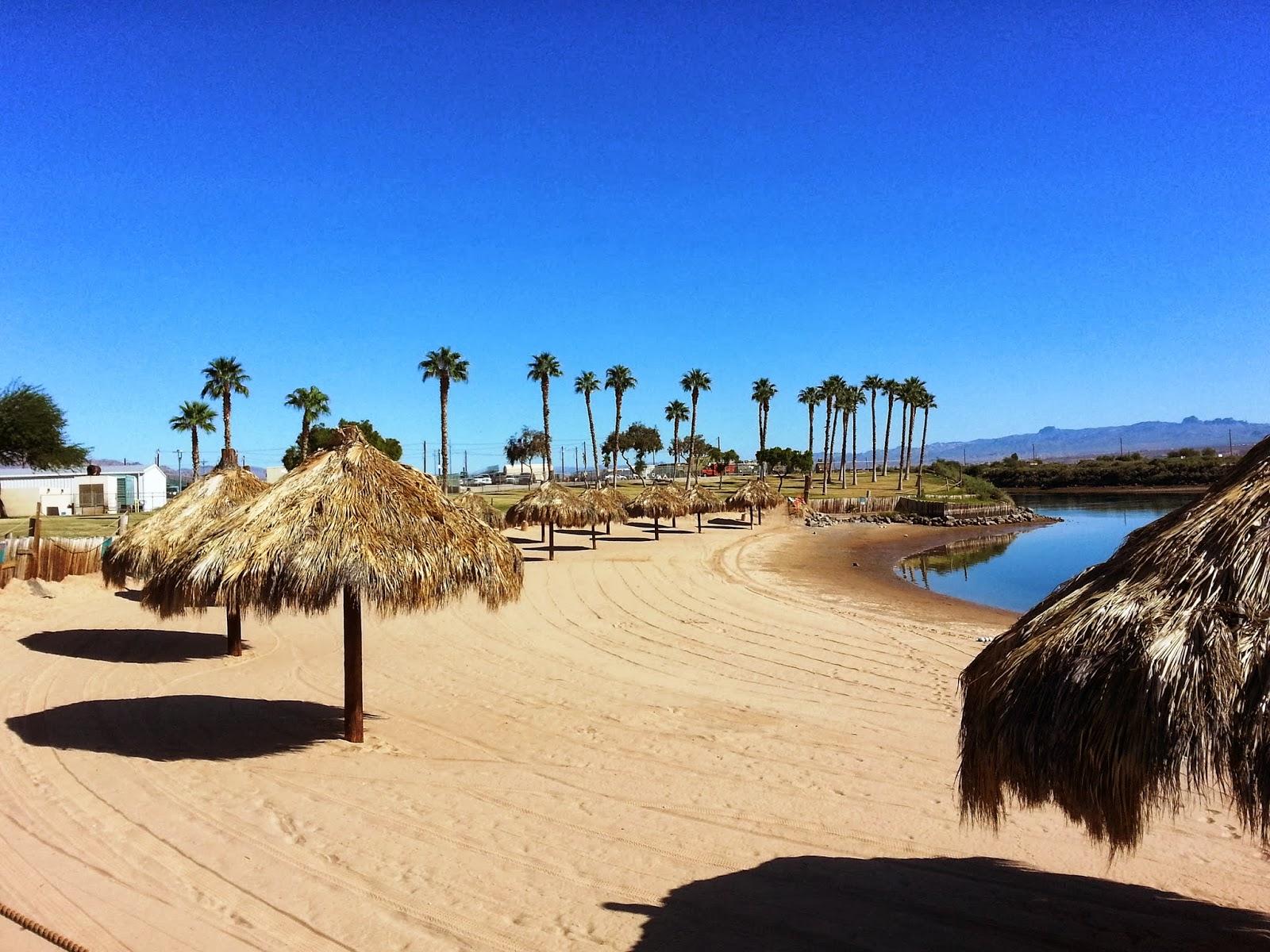 Laughlin Buzz Deserted Beach Style