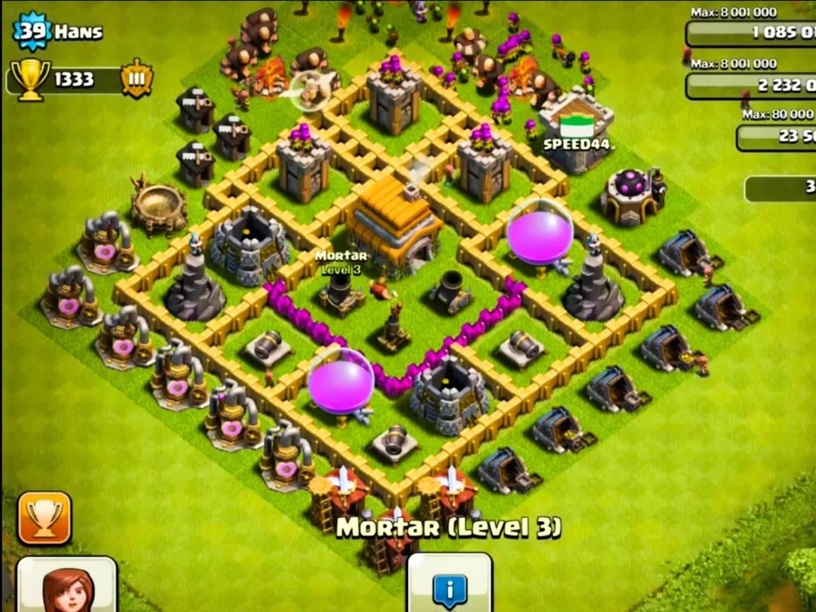 clash of clans town hall level 6 best defense strategy