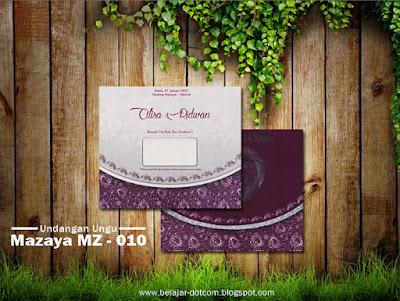 Contoh Undangan Pernikahan Warna Ungu Mazaya MZ - 010 - contoh undangan warna ungu, contoh undangan pernikahan ungu, contoh undangan nuansa ungu, contoh undangan pernikahan warna ungu, contoh undangan pernikahan nuansa ungu, contoh kartu undangan warna ungu, contoh undangan ungu, contoh kartu undangan pernikahan warna ungu, undangan sungai bahar - jambi, cetak undangan online, blanko undangan mazaya mz 10, cara membuat undangan, cetak undangan murah, undangan, undangan pernikahan, togi printing.
