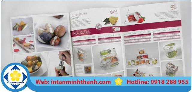 in brochure quảng cáo tại hcm