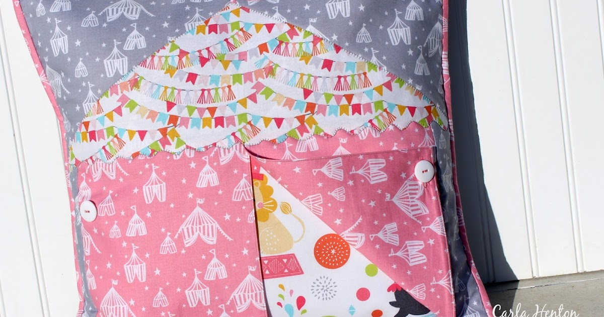 Creatin In The Sticks Big Top Circus Pillow Cover For