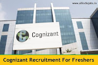 Cognizant Job Openings 2017