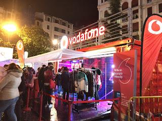 Concierto en Herriko Plaza con motivo de los premios MTV