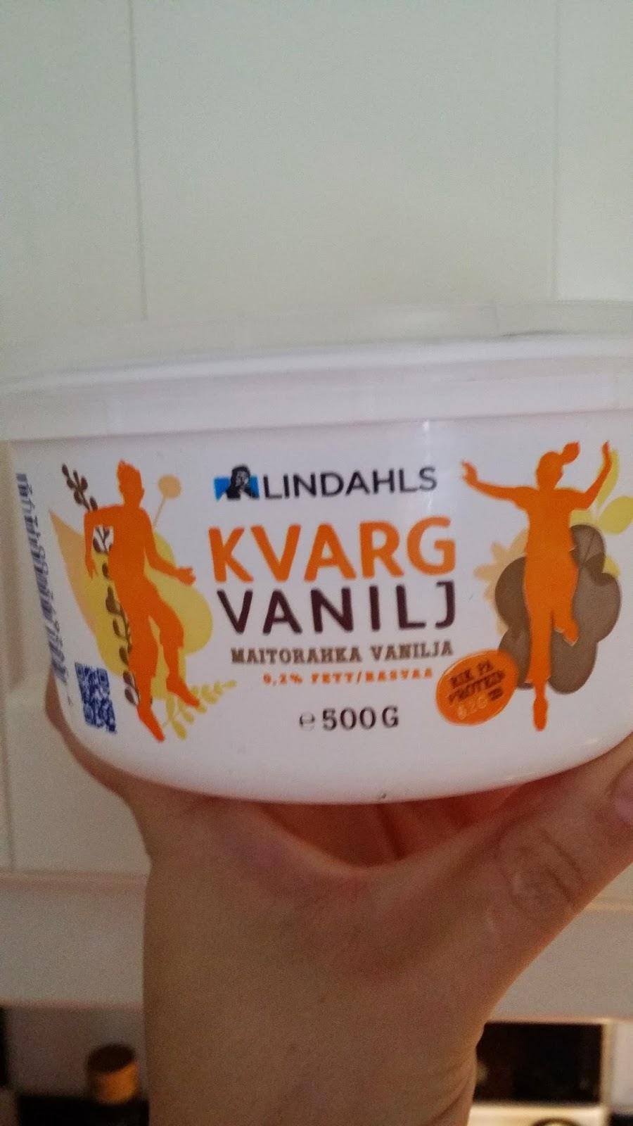 näringsvärde kvarg vanilj