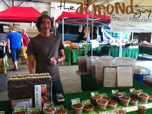 San Diego Farmers Market Produce almond local event BeckyCharms