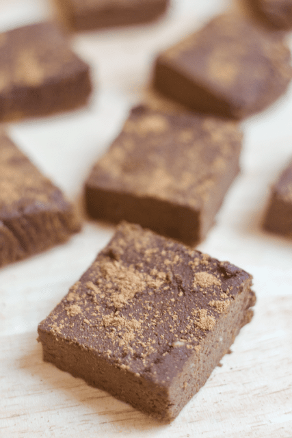 pumpkin spice protein brownies vegan recipe