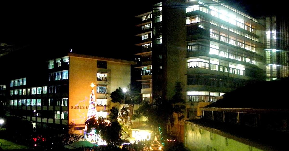 Saint Louis University In Baguio City Lights Up Its Giant ... - photo#14