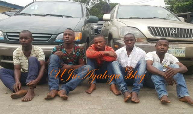 See the Notorious Kidnappers Terrorizing Residents of Aba Captured by the Police (Photo)