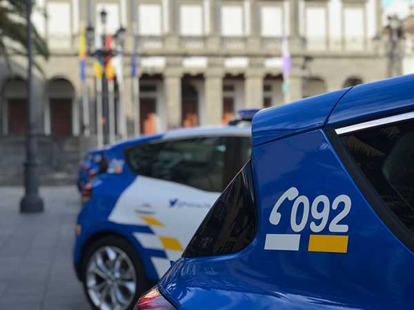 Hombre detenido por violencia de género en el barrio de San José por la Policía Local  de Las Palmas de Gran Canaria