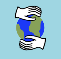 http://commons.wikimedia.org/wiki/File:Hands_holding_a_globe_clip-art_style.png