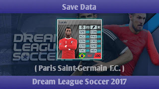 Save Data PSG Dream League Soccer 2017