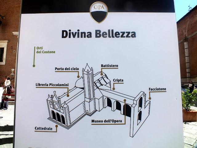 Divina Bellezza Siena (cartel informativo)
