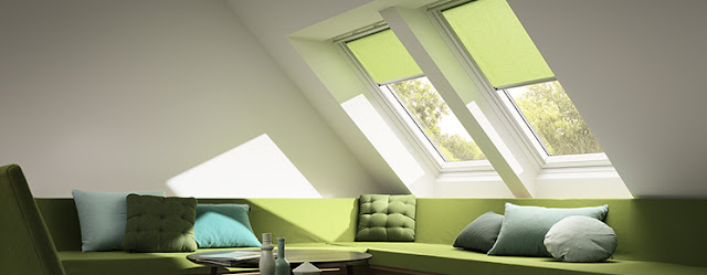 VELUX, blinds