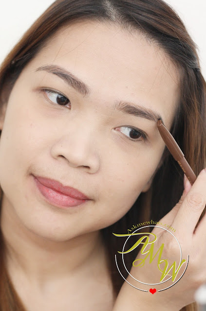 a photo on how to use Jordana FabuBrow Eyebrow Pencil