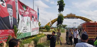 Masa Tenang, Alat Peraga Kampanye (APK) Pemilihan Gubernur dan Wakil Gubernur Lampung Diturunkan