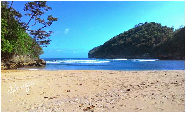 Pantai Kondang Sugu, Saudara Senasib yang Tertutup Hutan Konservasi