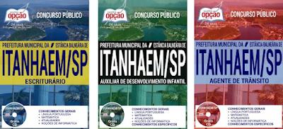 Apostila Prefeitura de Itanhaém 2017, conteúdo para todos os cargos e funções.