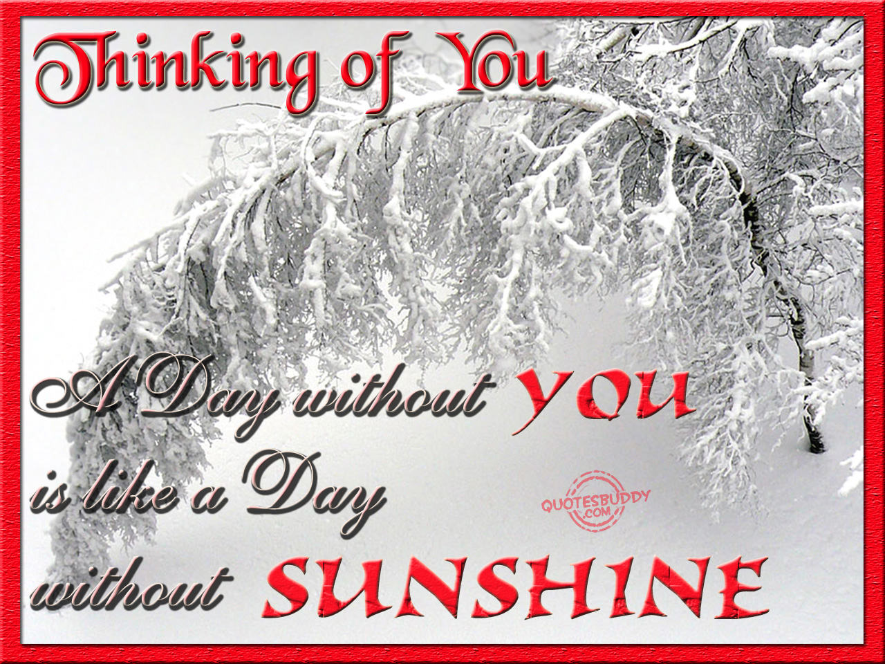 Just Thinking Of You Quotes. QuotesGram