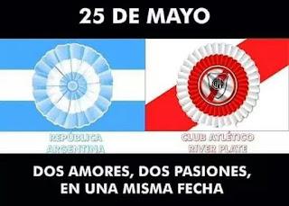 El Blog de La Tradicional River Plate: Â¡ El 25 de Mayo !