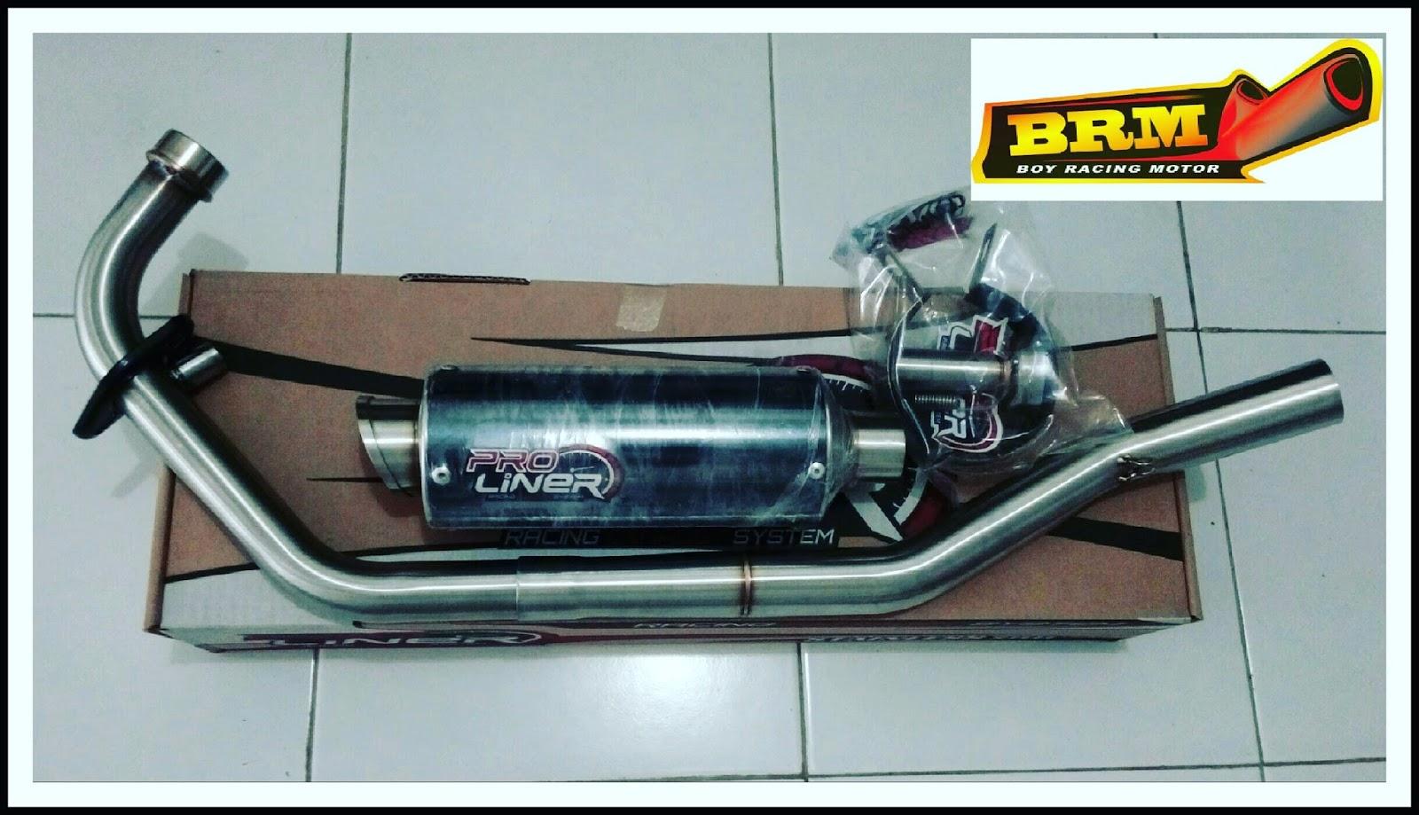 Brm Boy Racing Motor Prospeed Knalpot Byson Yamaha Exhaust Ket Pro Liner Ready Buat R25 R15