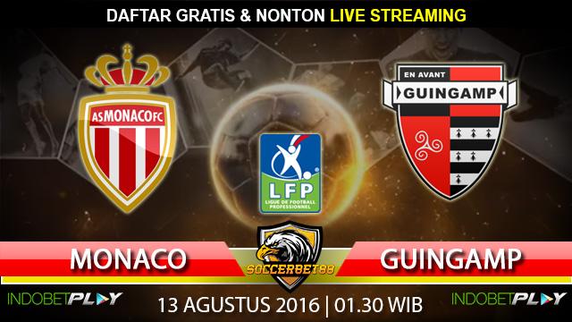 Prediksi Monaco vs Guingamp 13 Agustus 2016 (Liga Prancis)