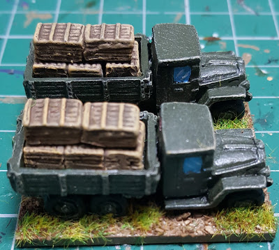 Supply trucks for Soviet tank Brigade picture 2