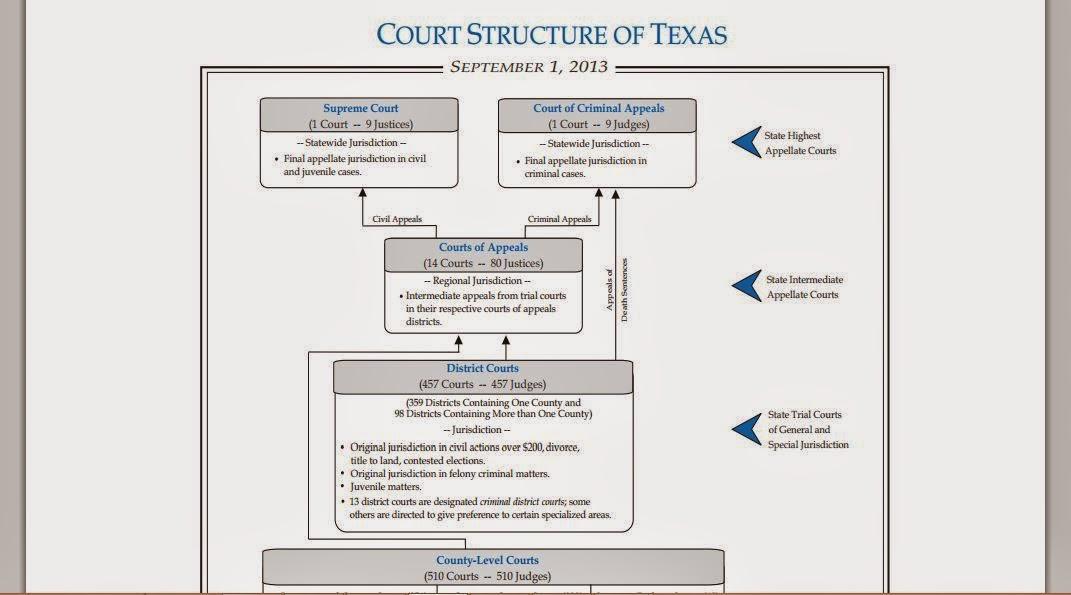 texas judicial model essays