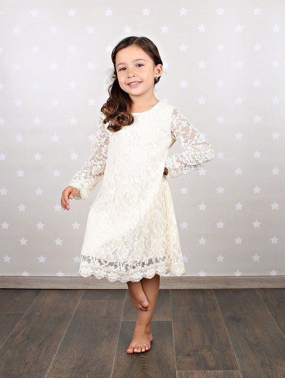 d3fdd3f181a The flowing bell sleeves made of light lace make this cute dress great for a  cool fall evening. Pair this accurate dress with a flower crown and loose  ...