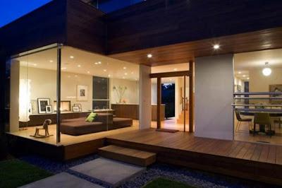 contoh desain rumah mewah   desain rumah minimalis