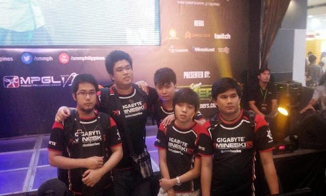 Dota 2 Champion - Team Mineski