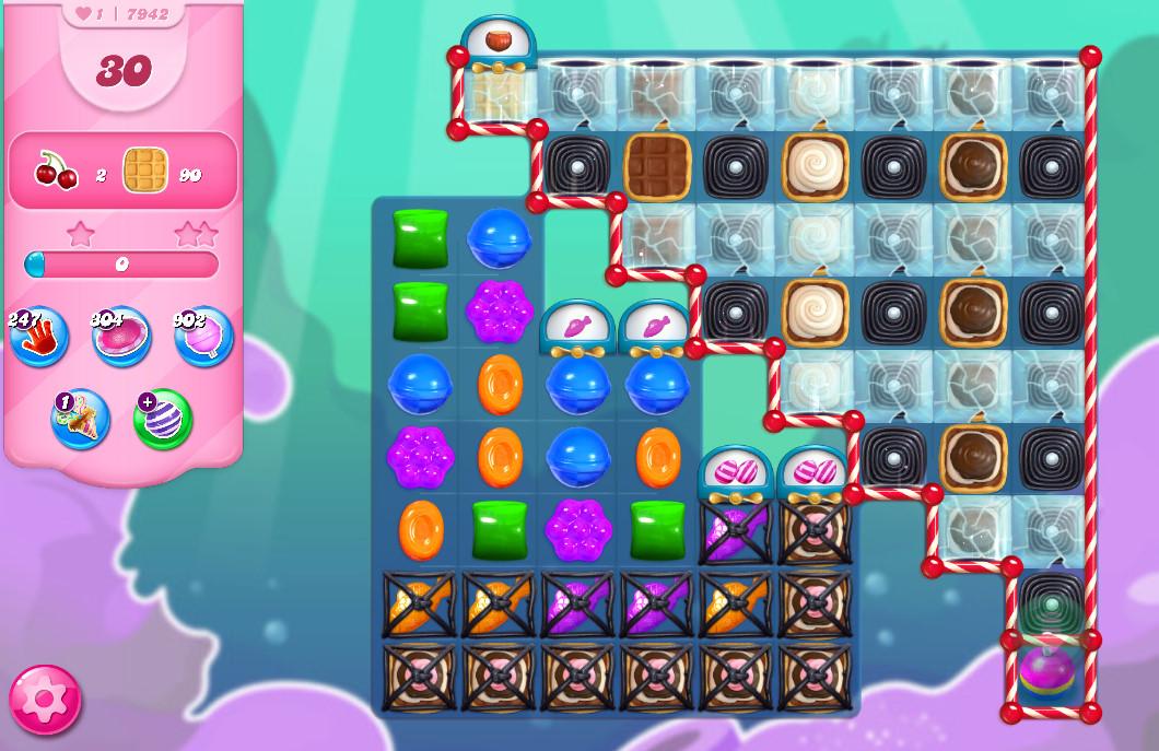 Candy Crush Saga level 7942