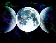 Mundo wicca los wiccanos y la deidad femenina Estamos en luna menguante