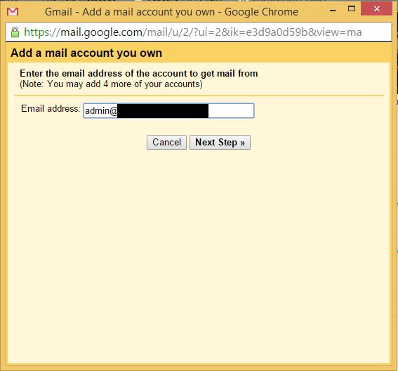 Cara Setting Email Hosting Pada Gmail 3