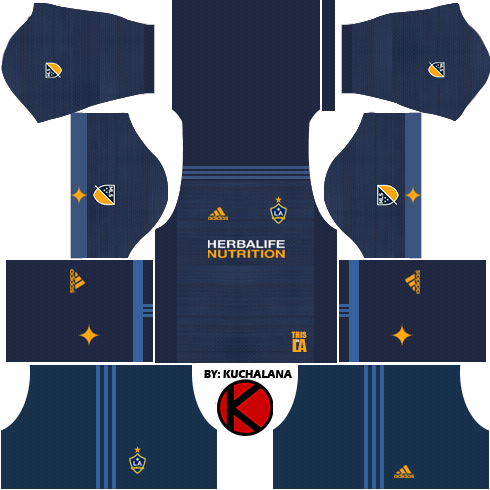 7590e695f8b LA Galaxy Kits 2017 - Dream League Soccer - Kuchalana