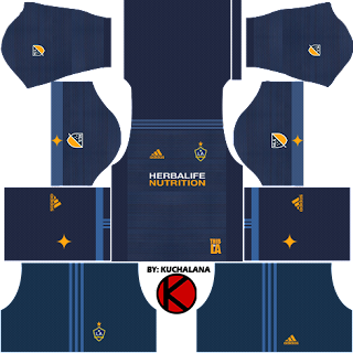 LA Galaxy Kits 2018 - Dream League Soccer Kits