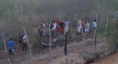 Acidente com vítima fatal na BA-046, rodovia que liga Ruy Barbosa a Itaberaba