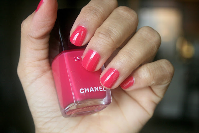 Chanel Le Vernis Longwear Nail Color in Camelia Swatch