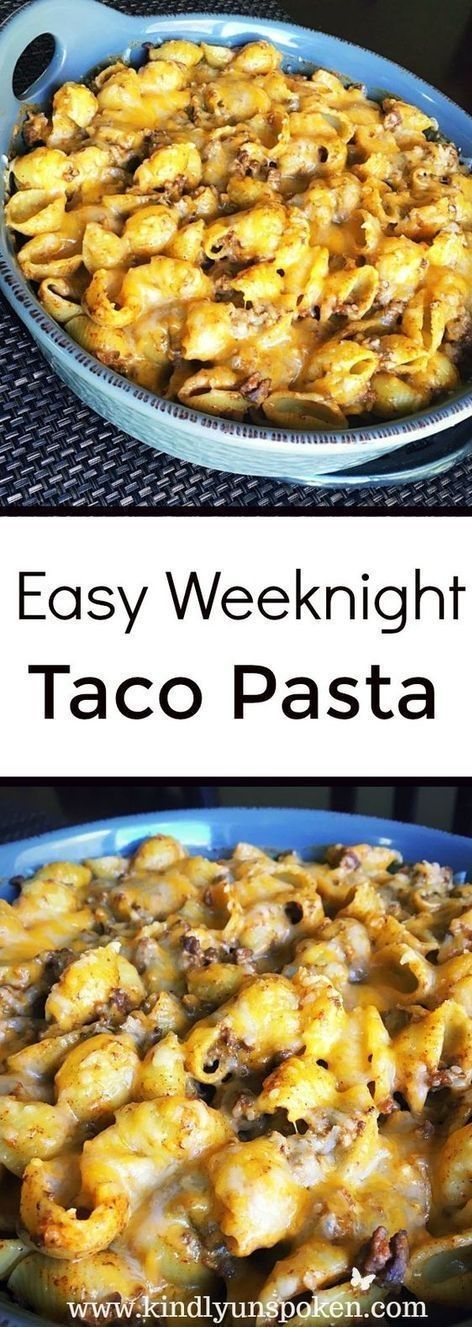 Easy And Delicious Weeknight Taco Pasta
