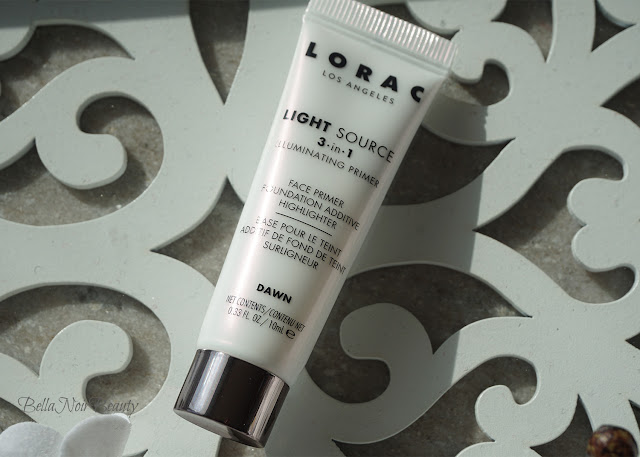 Lorac Light Source Illuminating Primer | bellanoirbeauty.com