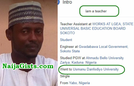 sokoto teacher facebook post